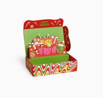 Happy Socks Psychedelic Candy Cane Gift Box XSAN09