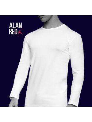Alan Red Men  Olbia O-neck LS 7804/2