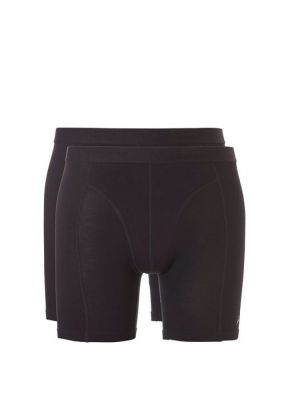 ten Cate Men Bamboo Shorts Long 2-pack 30863